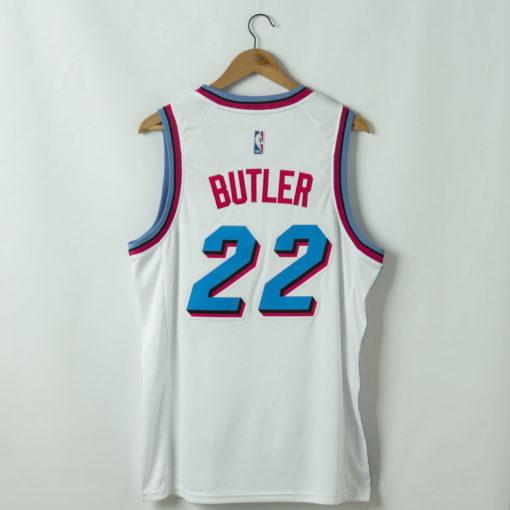 Jimmy Butler Miami Heat 2020-21 ASSOCIATION white Swingman Jersey 1