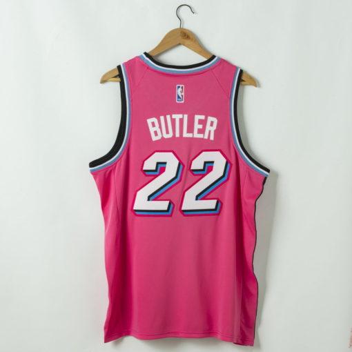Jimmy Butler Miami Heat 2020-21 Pink Swingman Jersey 1