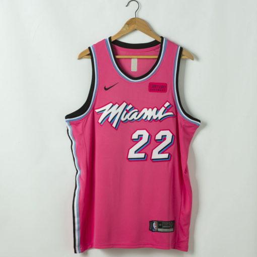 Jimmy Butler Miami Heat 2020-21 Pink Swingman Jersey