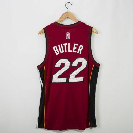 Jimmy Butler Miami Heat 2020-21 STATEMENT red Swingman Jersey 1