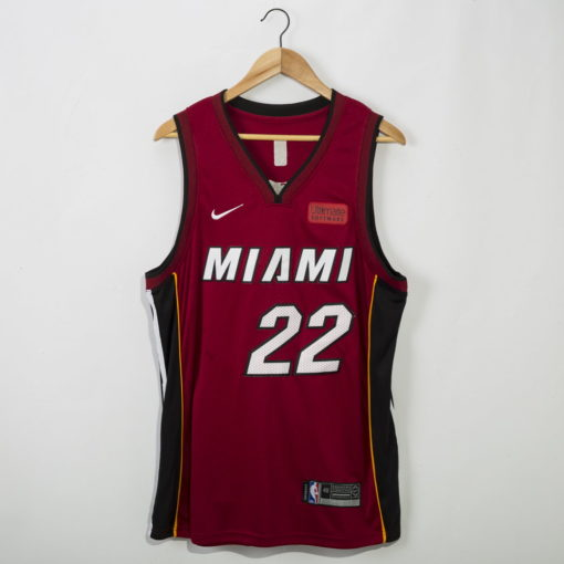 Jimmy Butler Miami Heat 2020-21 STATEMENT red Swingman Jersey