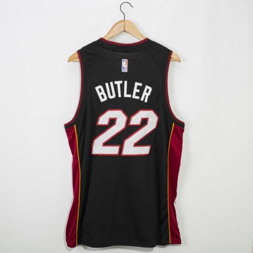 Jimmy Butler Miami Heat 2020-21 icon black Swingman Jersey 1