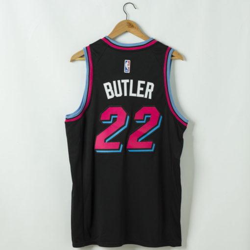 Jimmy Butler Miami Heat 2020-21 vice night blue Swingman Jersey 1