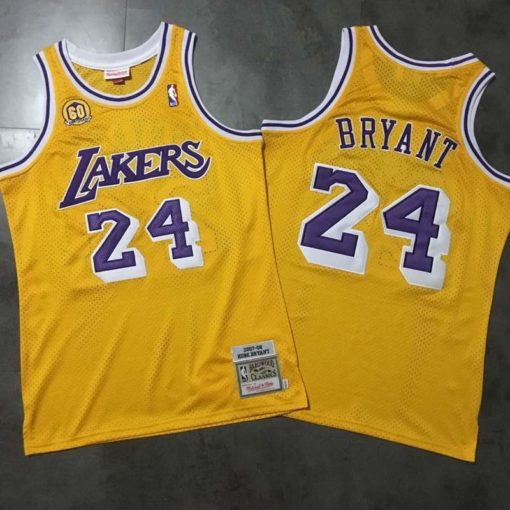 Kobe Bryant Los Angeles Lakers #24 Men's 2007 Jersey