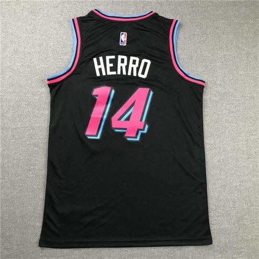 Tyler Herro Miami Heat 202021 Swingman Jersey - Black 1