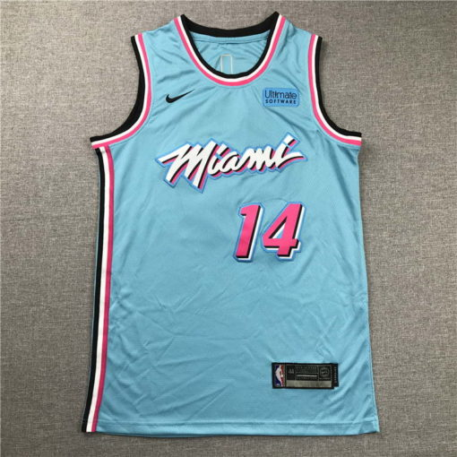 Tyler Herro Miami Heat 202021 Swingman Jersey - blue