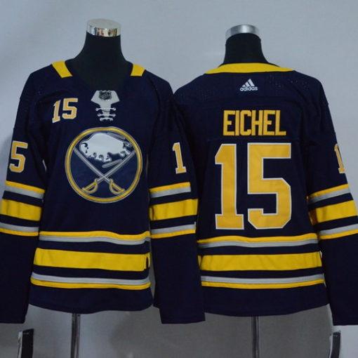 Women's Eichel Women's Buffalo Sabres Blue Home Breakaway Custom Jersey