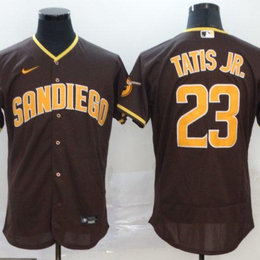 Fernando Tatis Jr San Diego Padres brown Jersey
