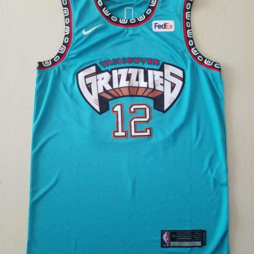 Ja Morant #12 Memphis Grizzlies Men's N Teal Classics Jersey