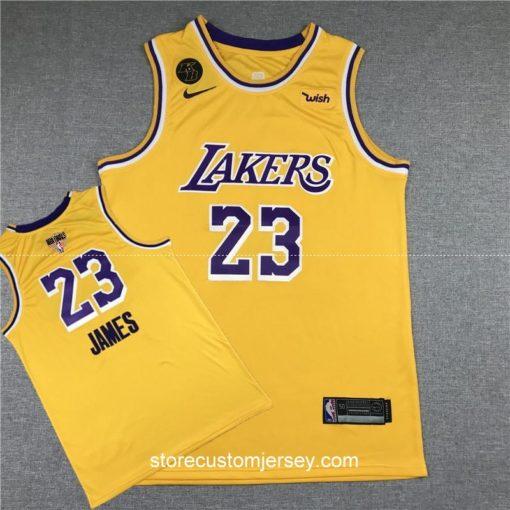 Los Angeles Lakers LeBron James 2019-20 Icon Edition Swingman Jersey