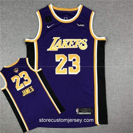 Los Angeles Lakers LeBron James Statement Edition Swingman Jersey