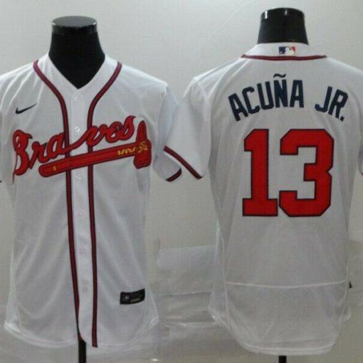 Ronald Acuna Jr. Atlanta Braves Home 2020 Player Jersey - White
