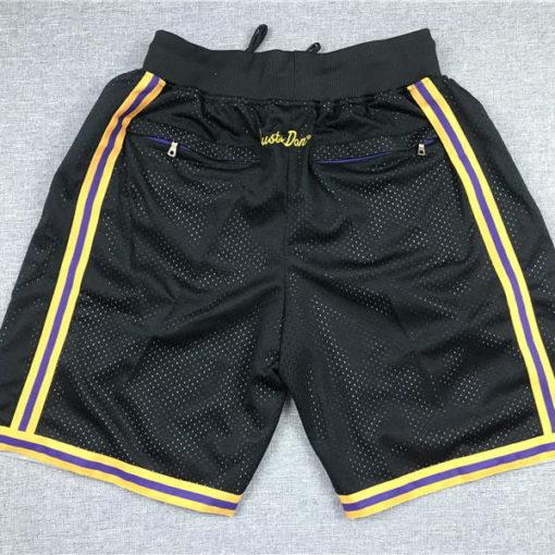 lakers black shorts 1