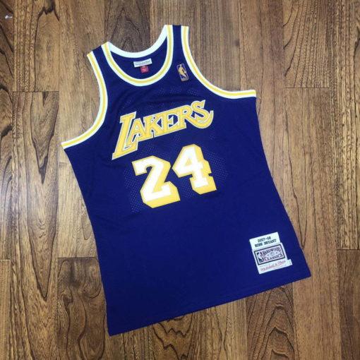 Kobe Bryant Los Angeles Lakers 2007-08 Mitchell & Ness Jersey - Purple 1