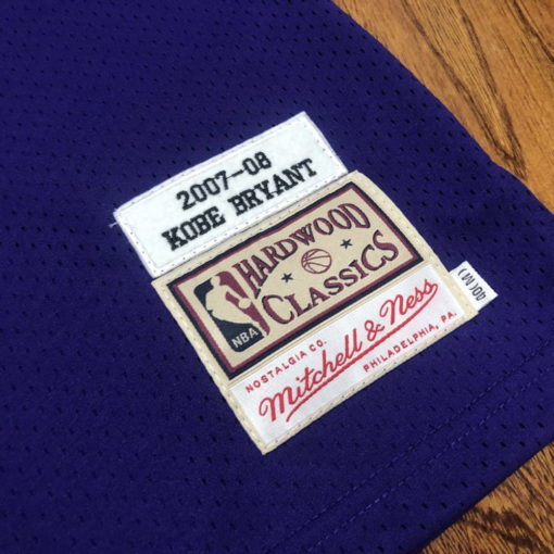 Kobe Bryant Los Angeles Lakers 2007-08 Mitchell & Ness Jersey - Purple 5