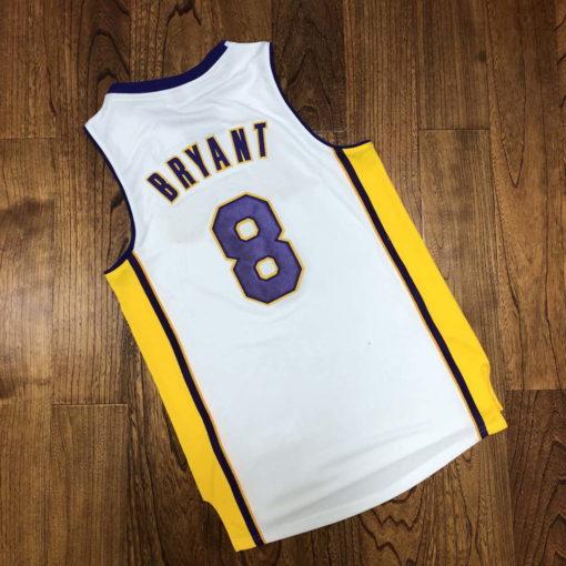 Kobe Bryant Los Angeles Lakers Alternate 2003-04 white jersey 2