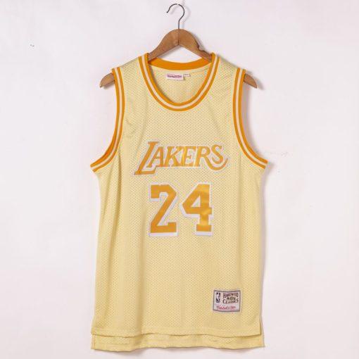 Kobe Bryant Los Angeles Lakers Hardwood Classics Golden Edition Jersey