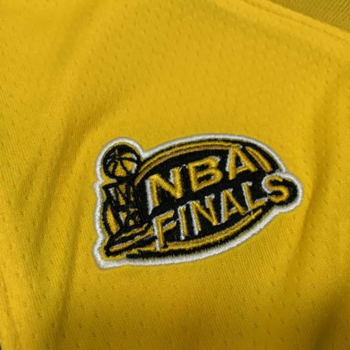Kobe Bryant Los Angeles Lakers Home Finals 1999-00 Gold Jersey real 3