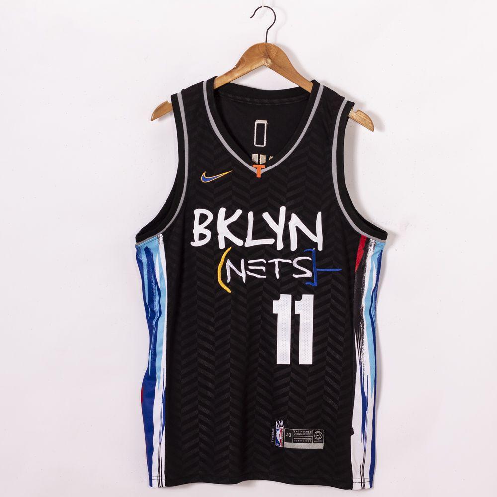 Kyrie Irving Brooklyn Nets 2021 City Edition Black Jerseys