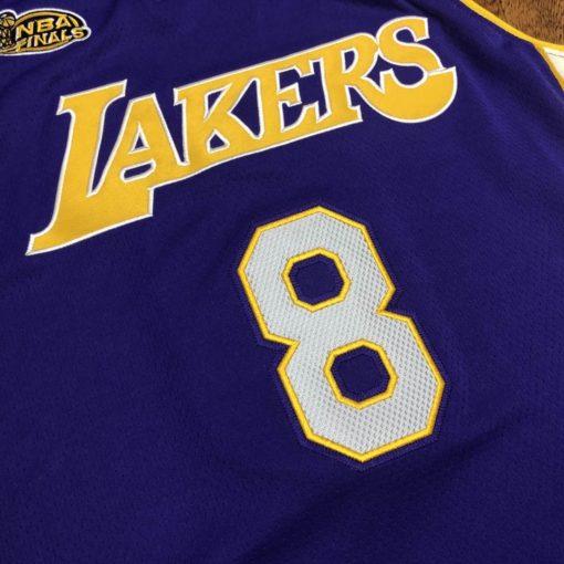 Los Angeles Lakers Road Finals 2000-01 Kobe Bryant Jersey 1