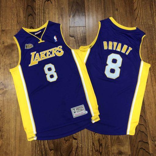 Los Angeles Lakers Road Finals 2000-01 Kobe Bryant Jersey