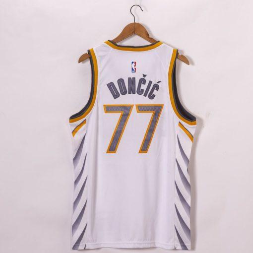 Luka Doncic Dallas Mavericks City Edition jersey back