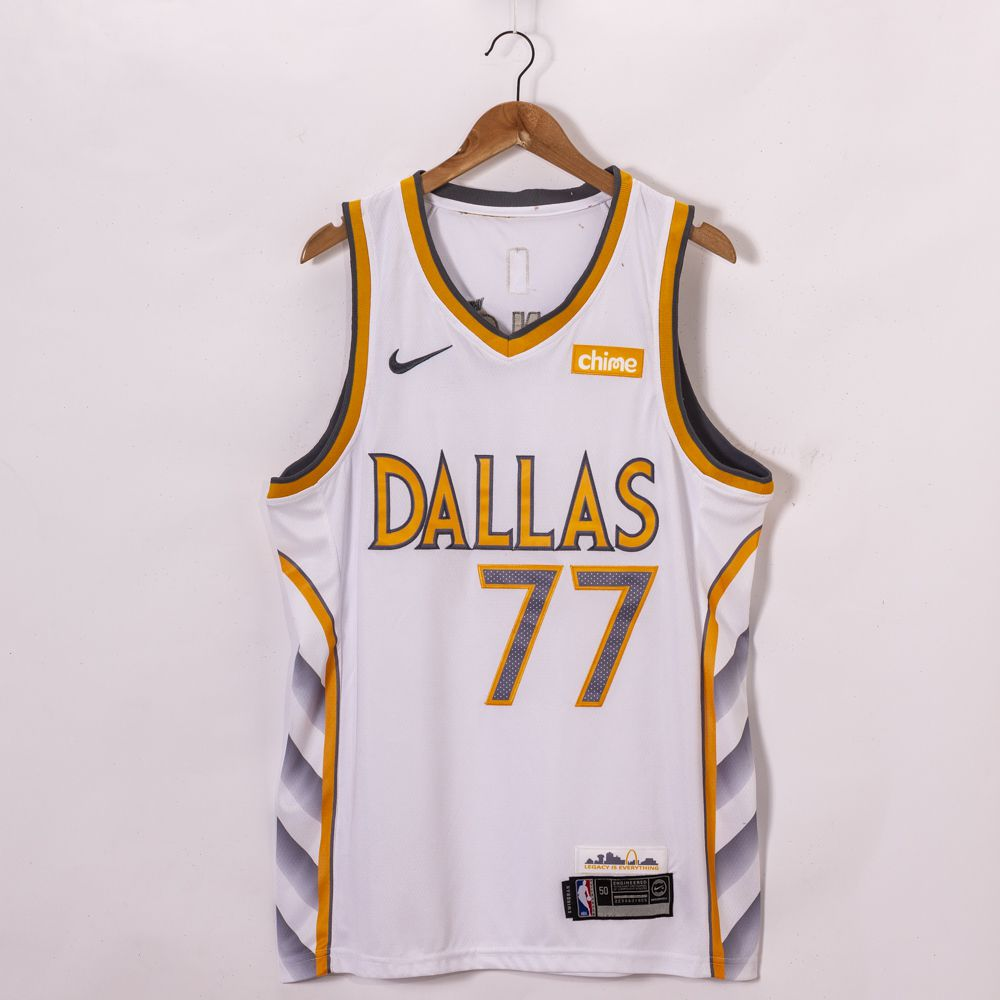 Luka Doncic Dallas Mavericks City Edition jersey