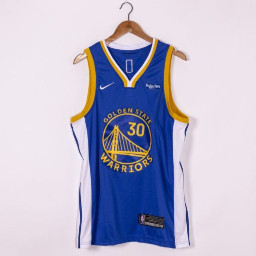 Stephen Curry Golden State Warriors Nike 202021 Swingman Jersey - Royal - Icon Edition
