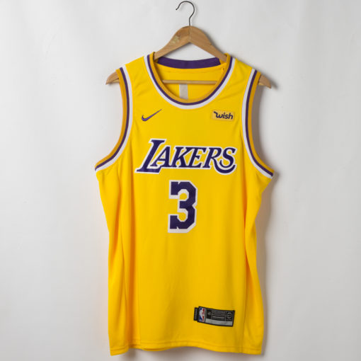 Anthony Davis Los Angeles Lakers 2019-20 Icon Swingman Gold Jersey