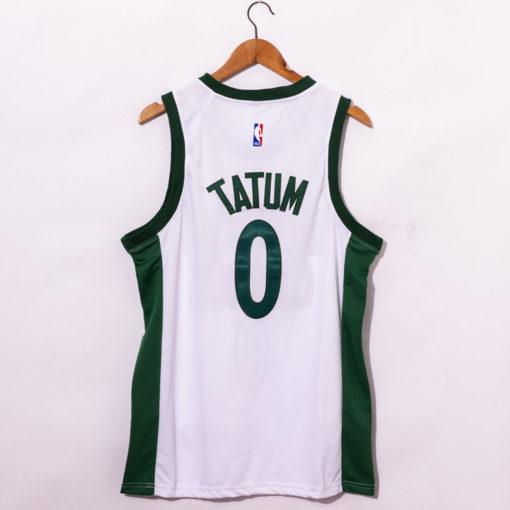 Jayson Tatum White Boston Celtics 202021 Swingman Player Jersey City Edition back