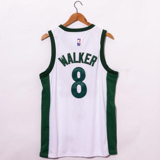Kemba Walker White Boston Celtics 202021 Swingman Player Jersey City Edition back
