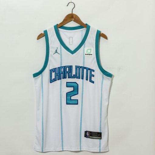 LaMelo Ball Charlotte Hornets 2021 Association Swingman Jersey