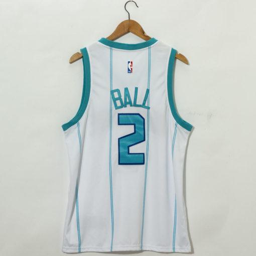 LaMelo Ball Charlotte Hornets 2021 Association Swingman Jersey back
