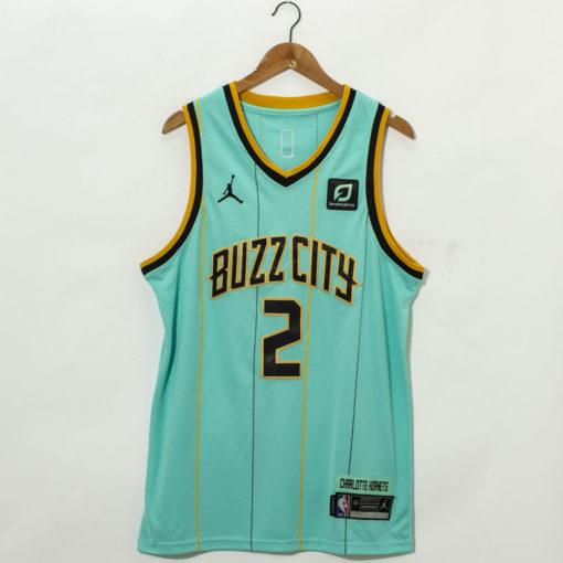 LaMelo Ball Charlotte Hornets Mint Green 202021 Swingman Jersey - City Edition
