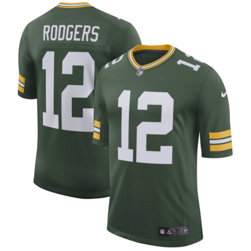 Men's Green Bay Packers Aaron Rodgers Nike Green Classic Limited Player Jersey