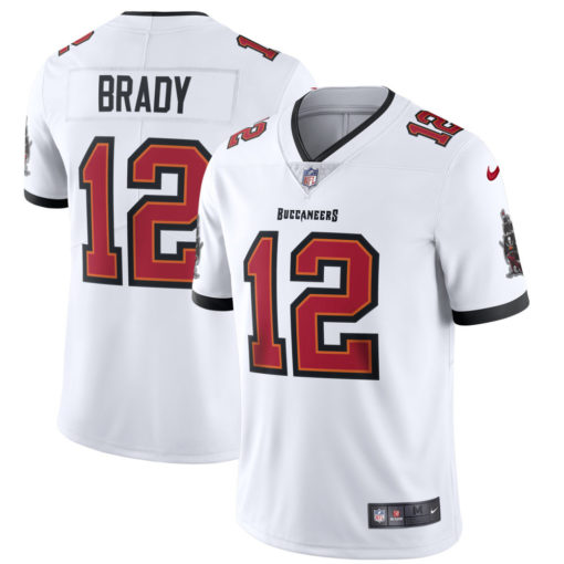 Men's Tampa Bay Buccaneers Tom Brady Nike White Vapor Limited Jersey
