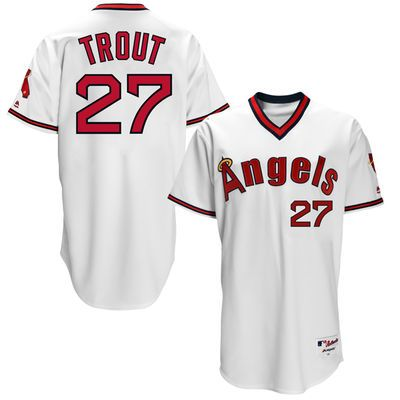 Mike Trout Los Angeles Angels 1970s Jersey