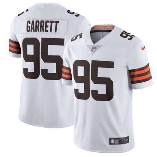 Men's Cleveland Browns Myles Garrett Nike white Game Player Jersey