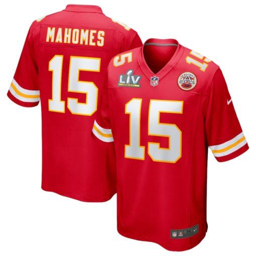 Patrick Mahomes Red Kansas City Chiefs Super Bowl LV Bound Game Jersey
