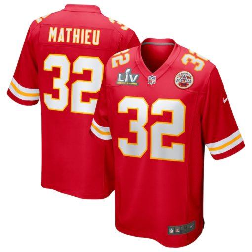 Tyrann Mathieu Red Kansas City Chiefs Super Bowl LV Bound Game Jersey