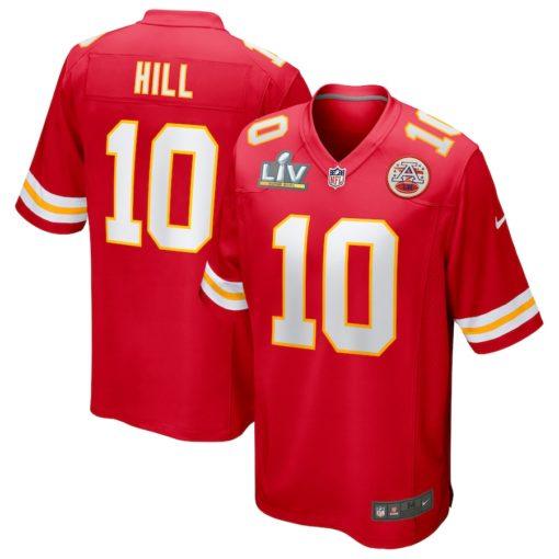 Tyreek Hill Red Kansas City Chiefs Super Bowl LV Bound Game Jersey