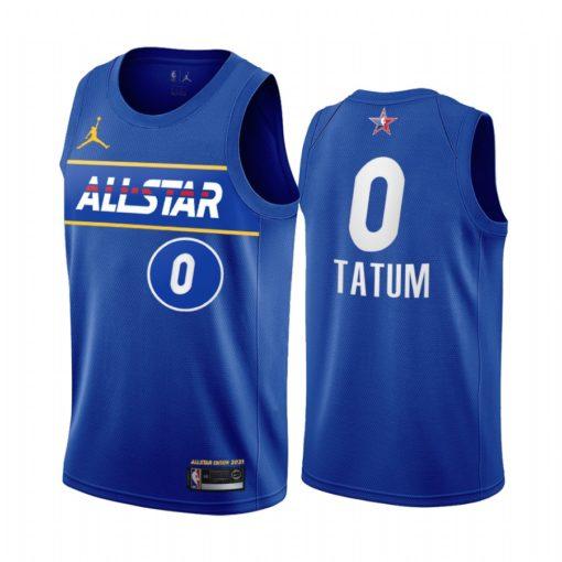 2021 All-Star Jayson Tatum Jersey Blue Eastern Conference Celtics Uniform